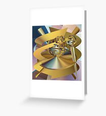 Activity in Universe Greeting Card