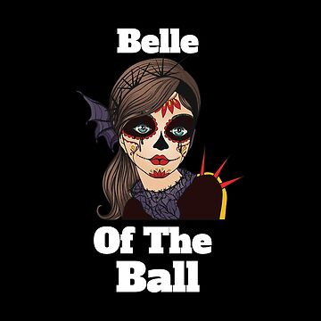 Funny Mexican Belle Of The Ball Sugar Skull by GrandmaMarilyn