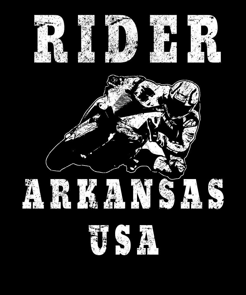 Rider Arkansas USA - Used Look Motorcycle Arkansas by DennBa