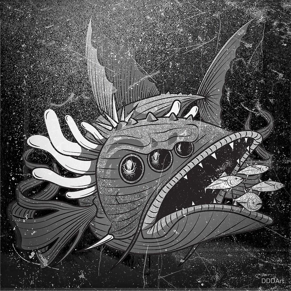 Too Much Tuna by DDDArt