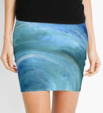 A Ripple In Time  Mini Skirt