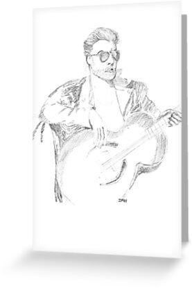 Portrait of Georges Michael by Zamen