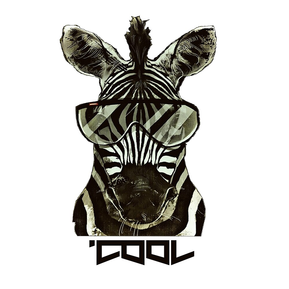 Cool zebra by fortythree