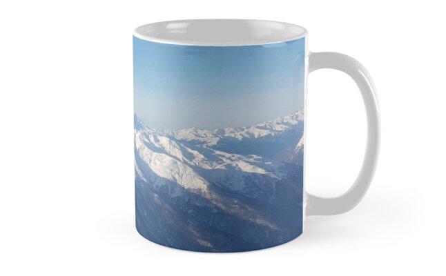 Ice Mountains by iamkhalandar
