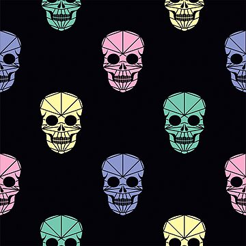 The pattern of Day of the Dead, a traditional holiday in Mexico by alijun