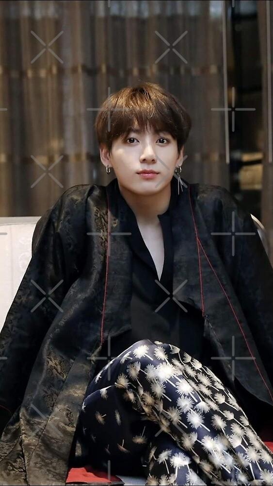 BTS JUNGJOOK Hanbok by D Suarez666