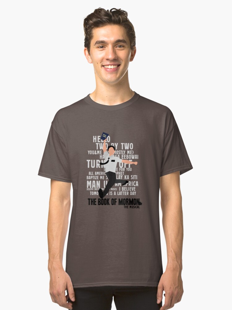 The Book Of Mormon Classic T-Shirt Front