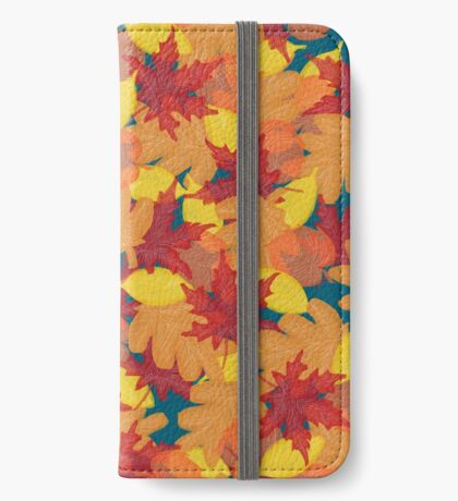 Bright Fall #redbubble #fall iPhone Wallet