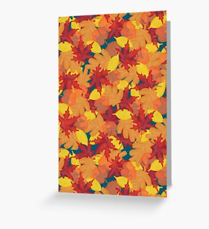 Bright Fall #redbubble #fall Greeting Card