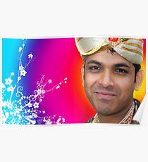 Indian Bride Groom  Poster