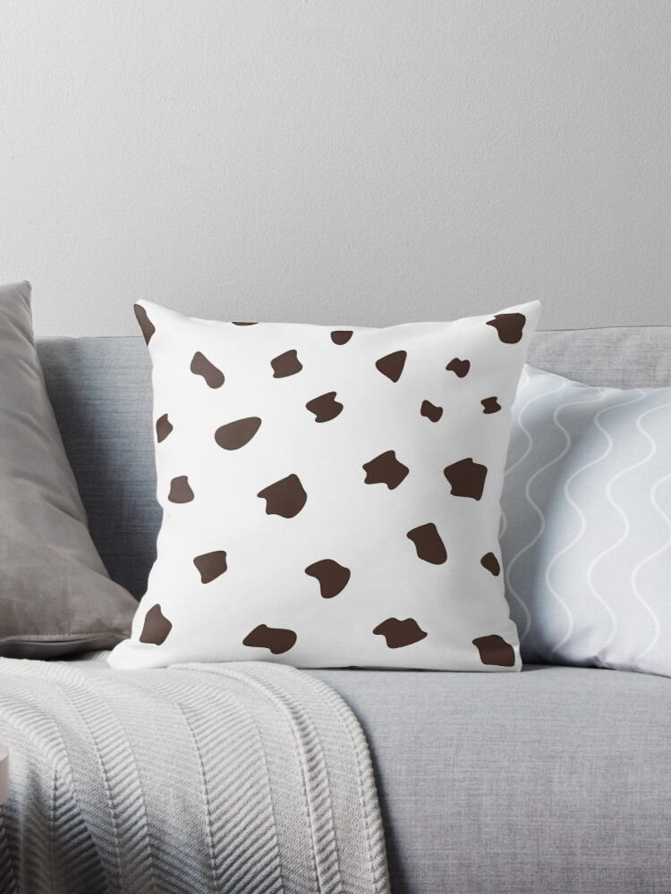 Design dots - Choco on white by Bee and Glow Illustrations Shop