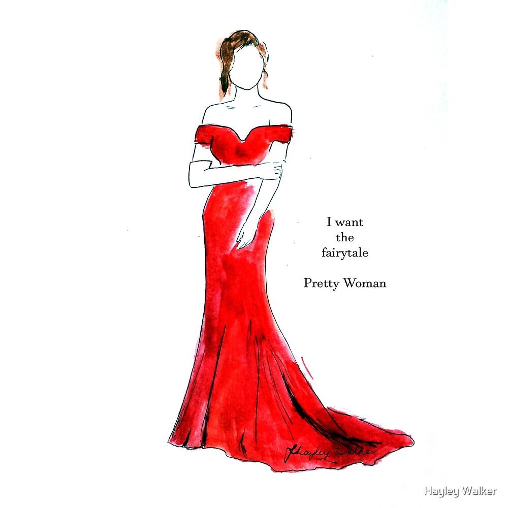 Pretty Woman illustration / I want the fairytale by Hayley Walker