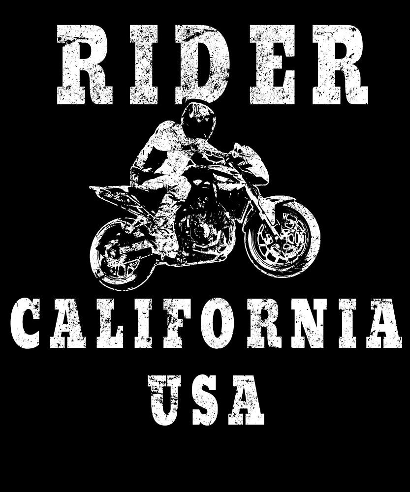 Rider California USA - Used Look Motorcycle California by DennBa