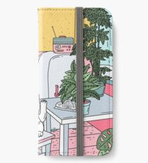 Vinilo o funda para iPhone Plantas maneki