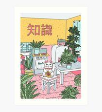 Maneki Plants Art Print