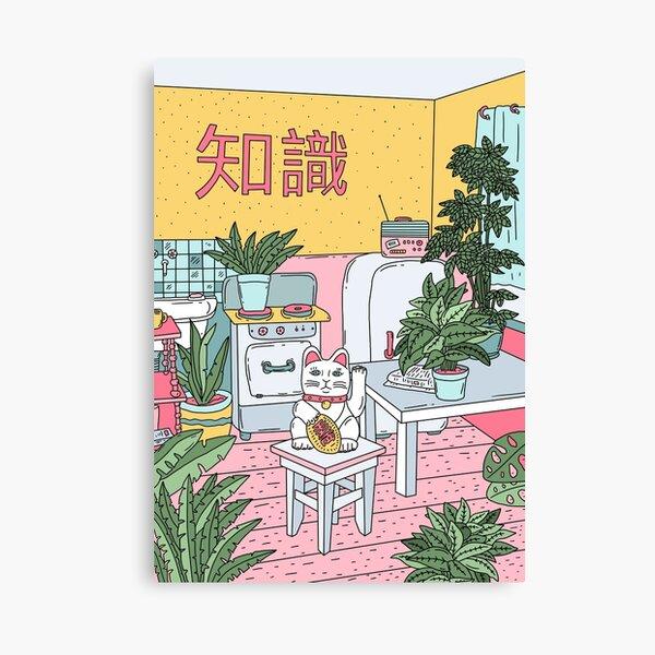 Maneki Plants Canvas Print
