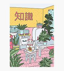 Maneki-Pflanzen Fotodruck