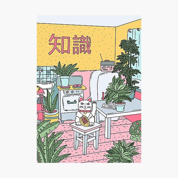 Maneki Plants Photographic Print