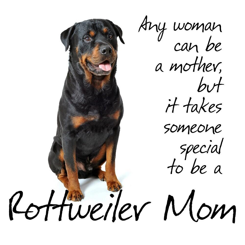 Rottie Mom by DogLove