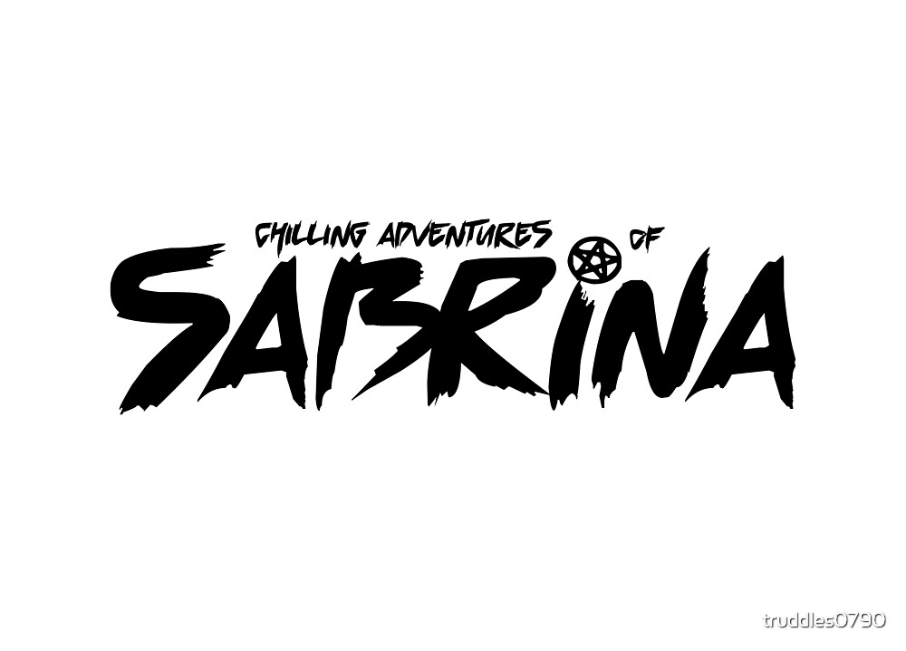 Chilling Adventures of Sabrina- Black Font by truddles0790
