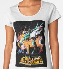 LOS CABALLEROS DEL ZODIACO  Premium Scoop T-Shirt