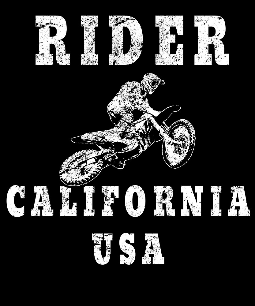 Rider California USA - Used Look Motorcycle California by DennBa