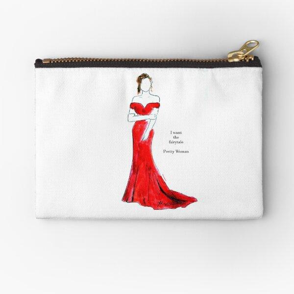 Pretty Woman illustration / I want the fairytale Zipper Pouch