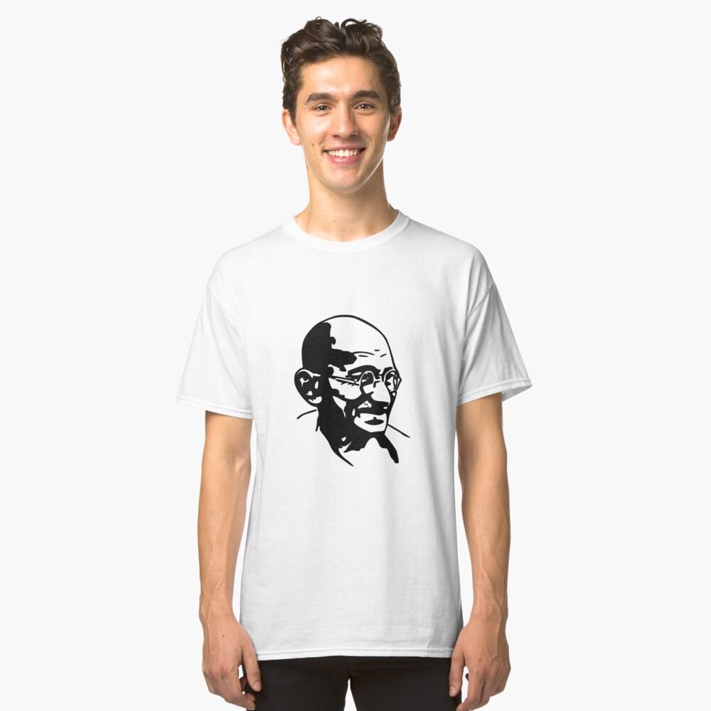 GANDHI WISDOM Classic T-Shirt Front