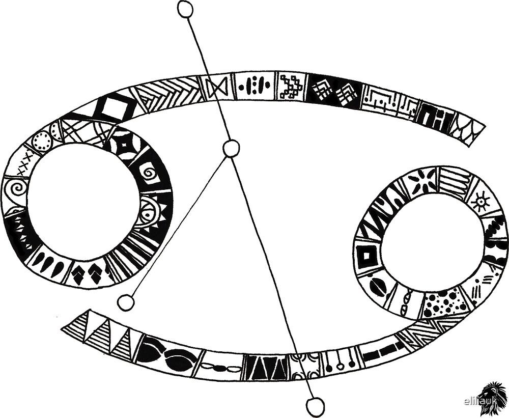 ELILIA ASTRAL Cancer Symbol by eliliauk