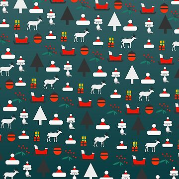 Christmas crowd by cocodes