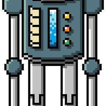 Pixel Robot 137 by Vampireslug