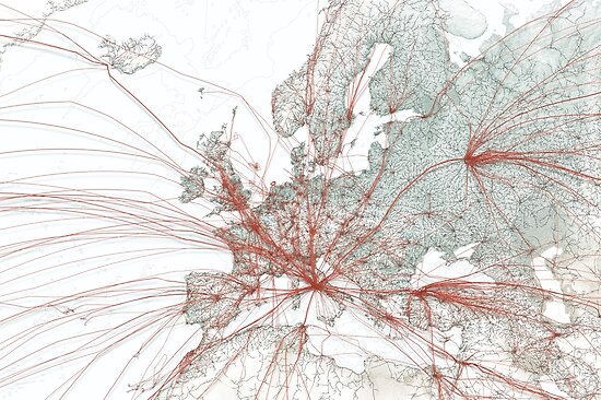 Flights to Rome by moovel lab