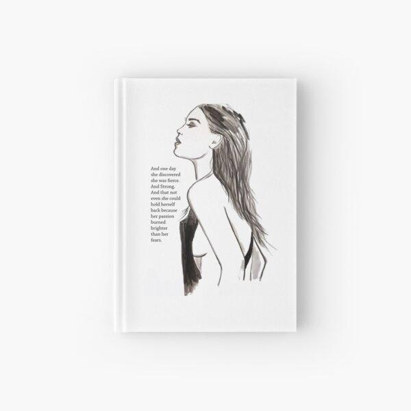 Fierce / Ink Illustration Hardcover Journal