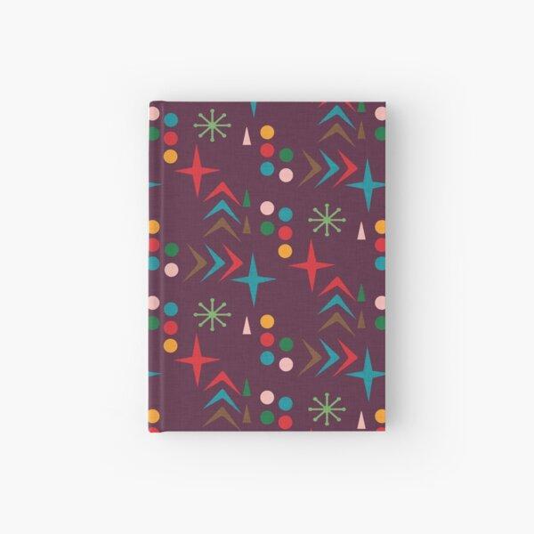 Atomic pattern purple mid century modern #homedecor Hardcover Journal