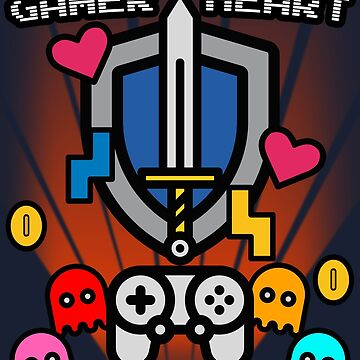 Gamer Heart by Retro-Freak