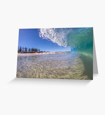 City Beach Alive Greeting Card