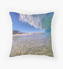City Beach Alive Throw Pillow