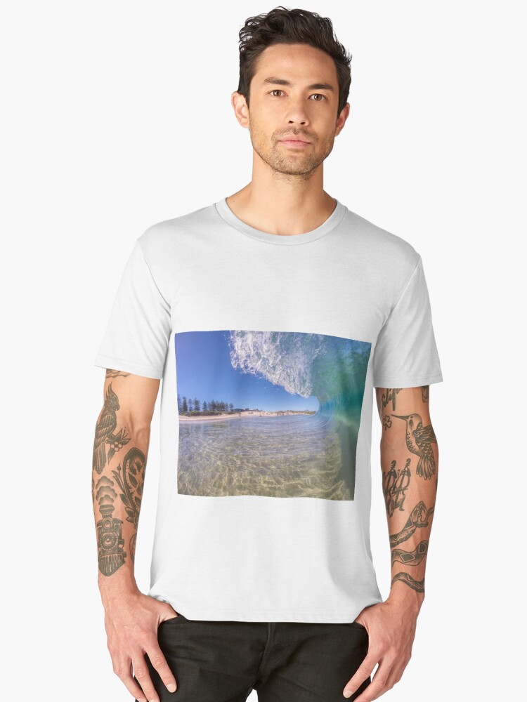 City Beach Alive Men's Premium T-Shirt Front