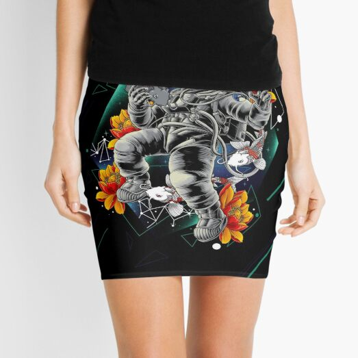 Lucky Spaceman Mini Skirt