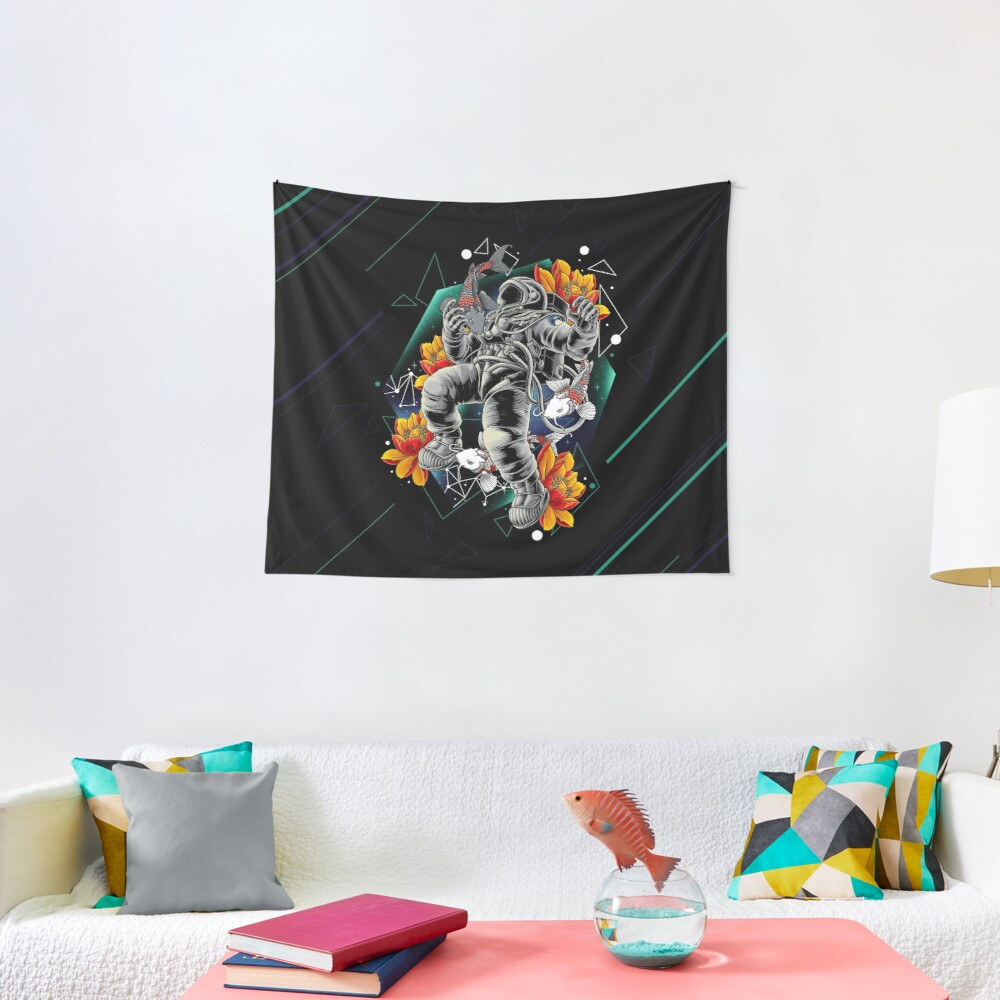 Lucky Spaceman Tapestry
