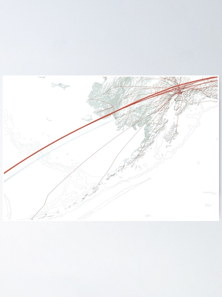 Alternate view of Flights to New York Poster