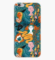 Coven. Witch magic sisters. iPhone Case
