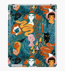 Coven. Witch magic sisters. iPad Case/Skin