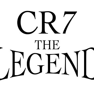 cr7 - the legend by storebycaste