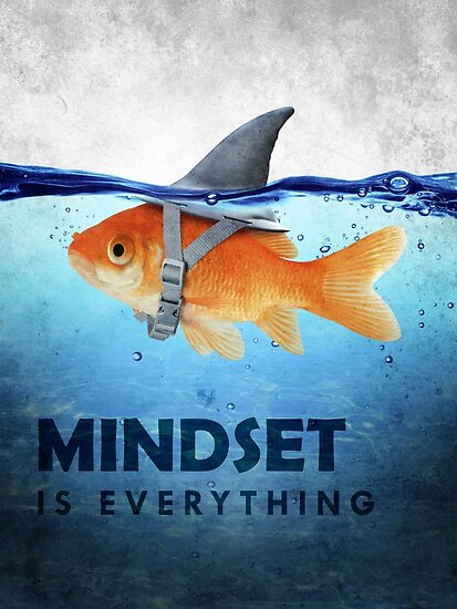 Quot Mindset Is Everything Quot Poster By Successhunters Redbubble