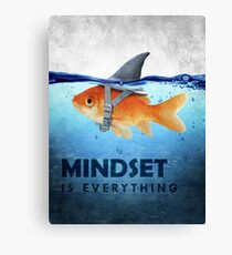 Mindset Is Everything Canvas Print