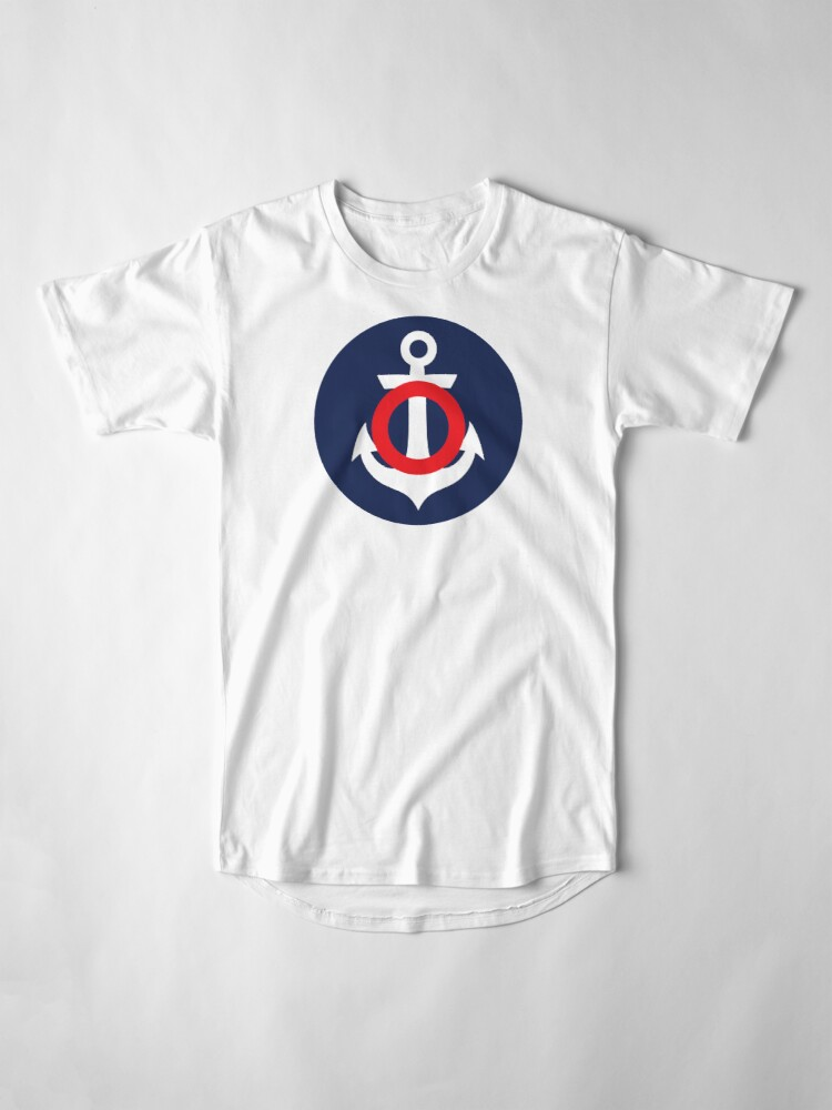Alternate view of Nautical Theme Long T-Shirt
