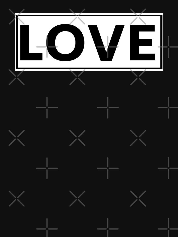LOVE tee by VintageEmpire