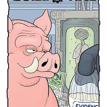 Porky by davecharlton