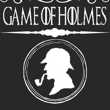Sherlock Holmes T-Shirt British Detective Game Of Holmes by TopTeeShop